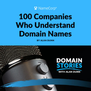 100 companies who understand domain names